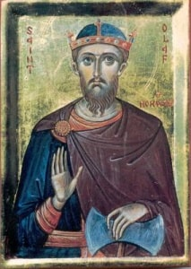 Sfântul Rege și Martir Olav al Norvegiei (29 Iulie)