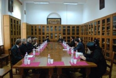 Delegaţie din Suedia la Facultatea de Teologie din Bucureşti