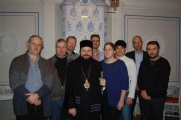 Preasfințitul Episcop Macarie în vizită la Institutul de Studii Ortodoxe din Stockholm