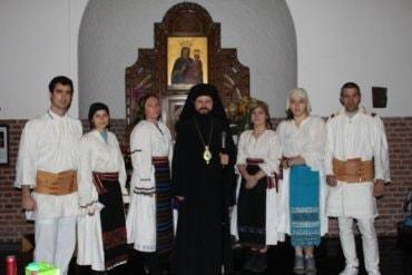 Hramul parohiei ortodoxe române din orașul Aalborg, Danemarca