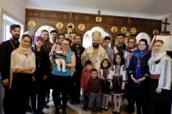 Slujiri euharistice la Centrul Episcopal din Stockholm