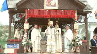 PS Macarie a slujit în Oarța de Sus, jud. Maramureș, satul natal al Mitropolitului Andrei