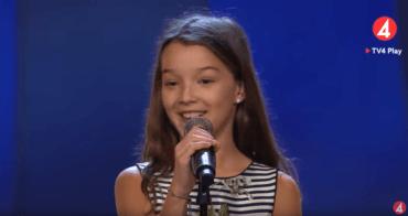 """Am aflat și eu, ca toți românii din diaspora suedeză, de succesul pe care Eva Jumătate, o fetiță din comunitatea noastră, l-a avut în emisiunea TV """"FÖLJ TALANG"""" …"""