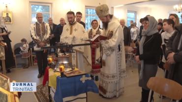Primul clopot al Parohiei Haugesund a fost sfinţit